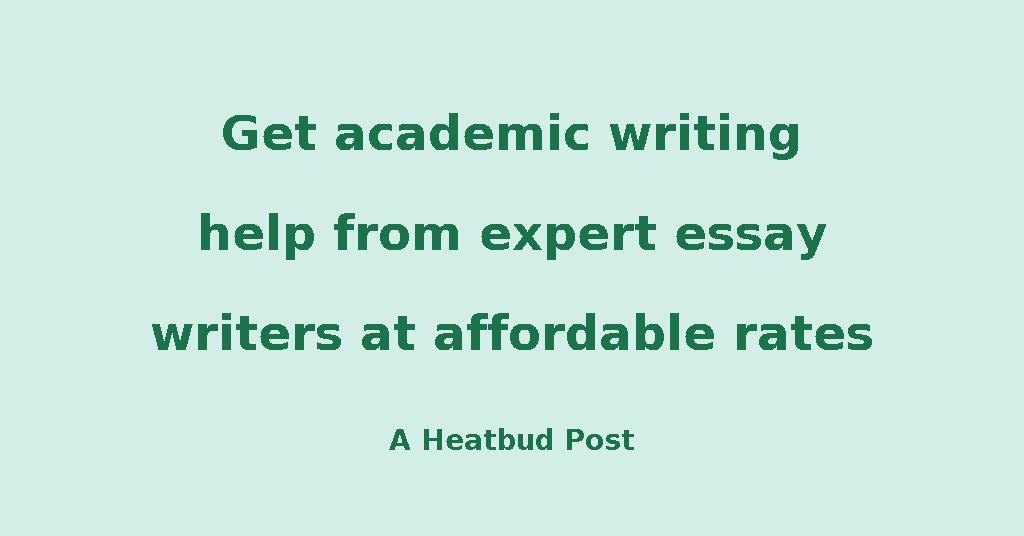 Heatbud  Business  Get Academic Writing Help From Expert Essay  Heatbud  Business  Get Academic Writing Help From Expert Essay Writers At  Affordable Rates