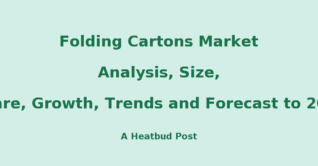 folding carton market expected growth in Carton folding and gluing machine market can be the carton folding and gluing machine is expected to experience a healthy growth due to increase in.